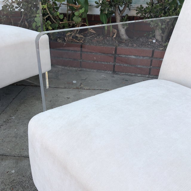 Vintage Lucite Lounge Chairs - A Pair For Sale - Image 10 of 12