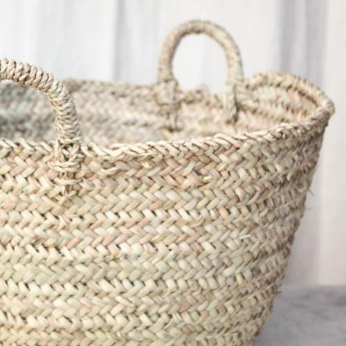 Moroccan Tote Basket - Image 6 of 6