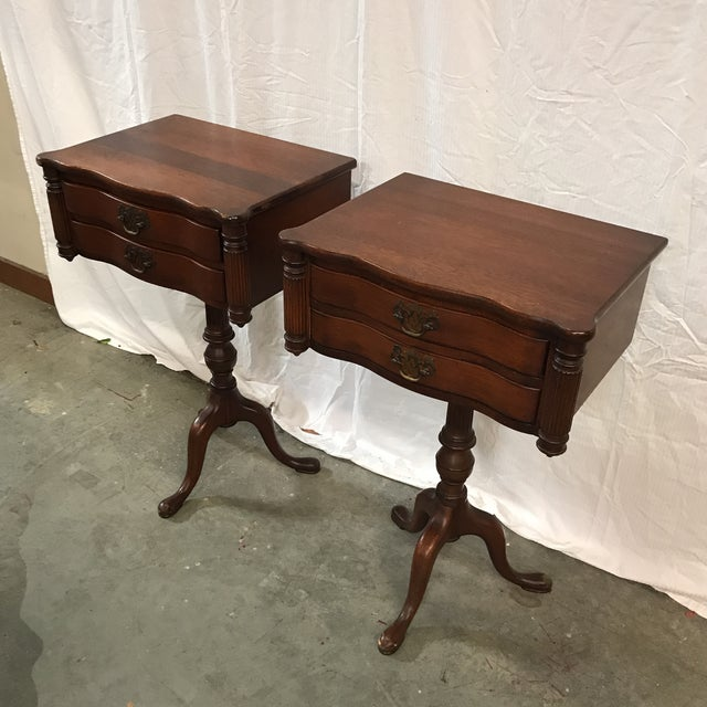 Empire Duncan Fyfe Style Library Tables - A Pair For Sale - Image 3 of 9