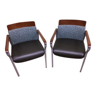 Kimball National Confide Guest Chairs - A Pair