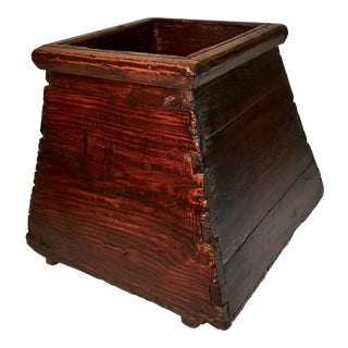 Antique Rice Bucket For Sale