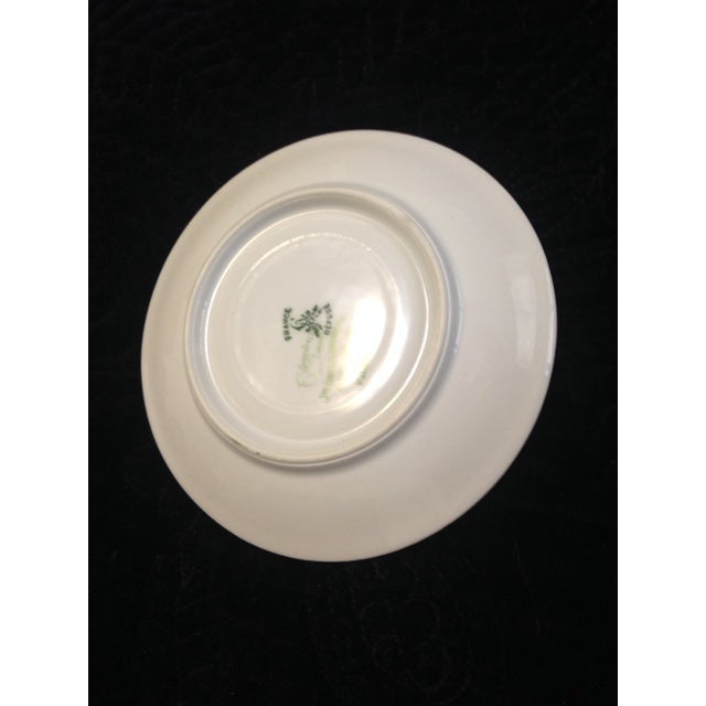 Vintage C. Ahrenfeldt Limoges France Depose Saucer - Image 4 of 6