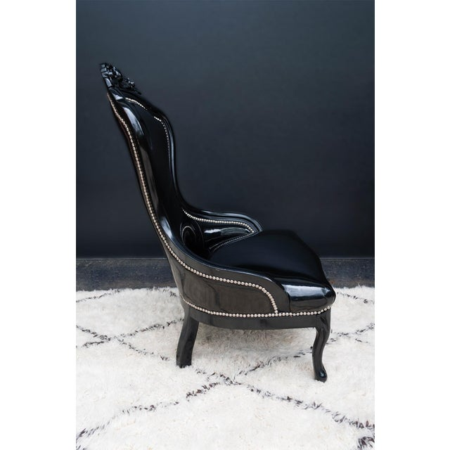 Luxe Regency King and Queen Chairs - Image 7 of 11