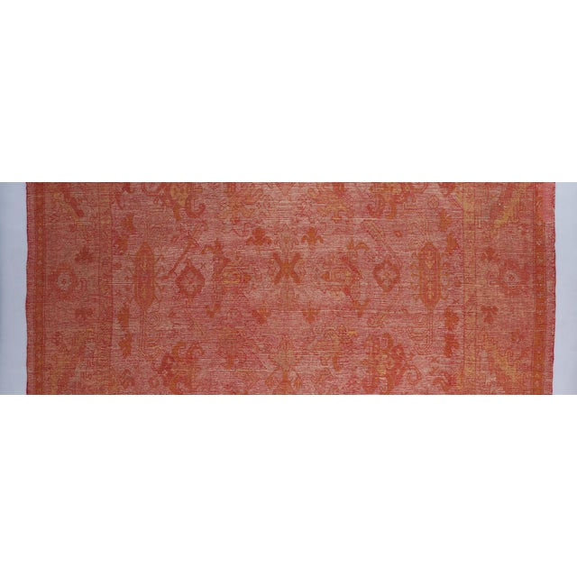 Late 19th Century Beige Ground Oushack Carpet For Sale - Image 5 of 6