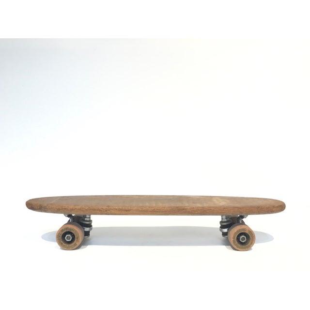 Vintage 1970's Wooden Skateboard - Image 3 of 6