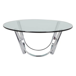 Roger Sprunger Style Coffee Table by Tri-Mark For Sale