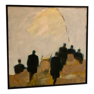 """On the March"" Painting by British Artist Linda Smith For Sale"