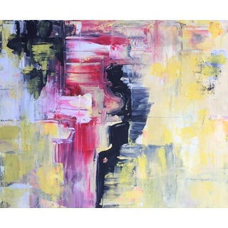 """""""In the Drivers Seat"""" Abstract Painting For Sale"""