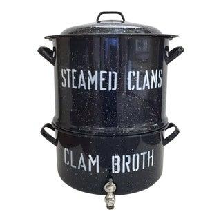 Clam Bake Steamer Pot