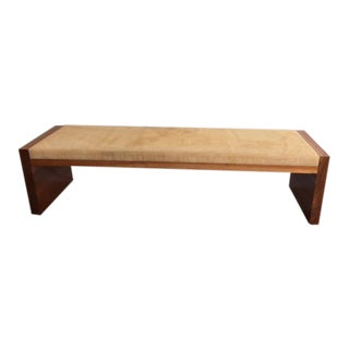 Mid Century Art Deco Bench/Coffee Table For Sale