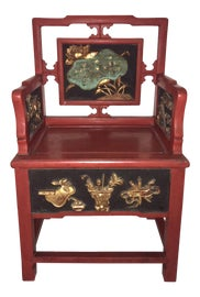 Image of Asian Antique Side Chairs