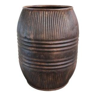 Vintage Iron Barrel