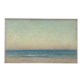 Samuel Colman Mataloking New Jersey Seascape 1880s For Sale