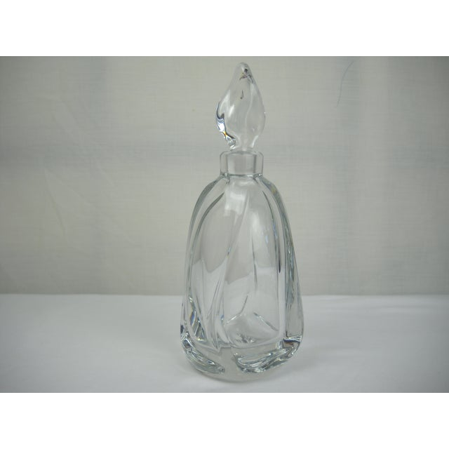 French Daum Crystal Scent Bottle - Image 2 of 8