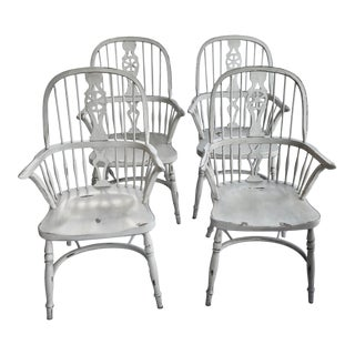 1990s Ralph Lauren Dining Chairs - Set of 4 For Sale