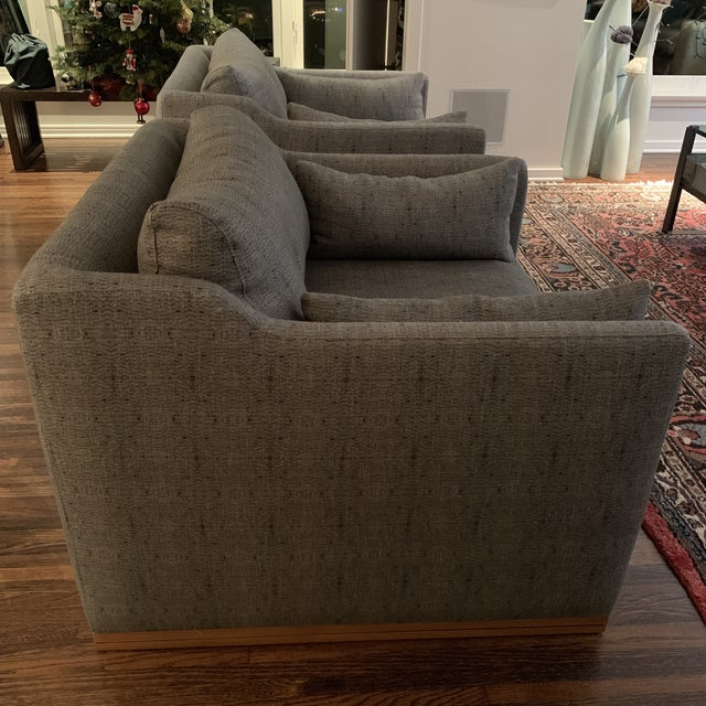 Gray Cisco Home Chairs- a Pair For Sale - Image 8 of 12