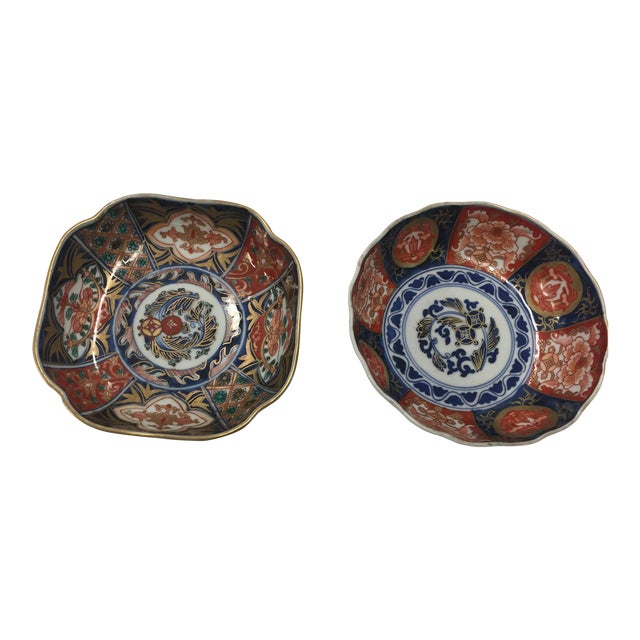 Hand Painted Japanese Imari Bowls For Sale