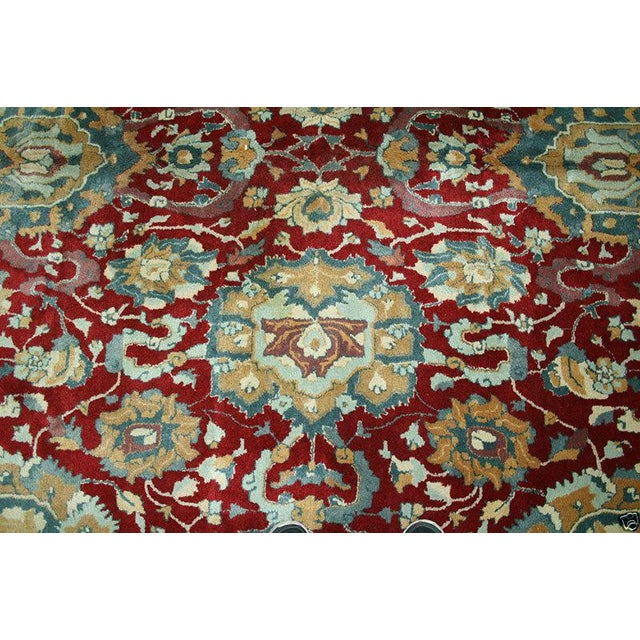 1930s Vintage German Persian Sultanabad Design Rug - 8′8″ × 18′ For Sale In Los Angeles - Image 6 of 7