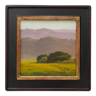 """Christin Coy """"Spring Afternoon, Lanatti Ranch"""" Original Oil Painting For Sale"""