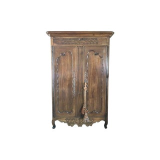 18th Century Louis XV Armoire For Sale