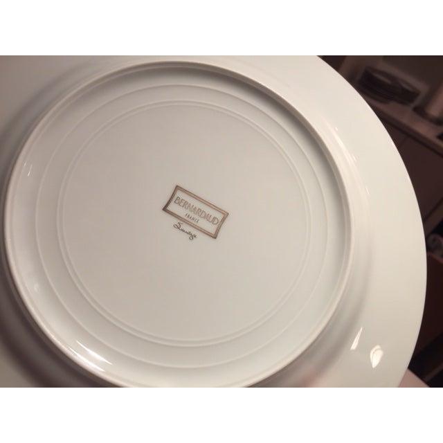 Bernardaud Sauvage Pattern Dinnerware Set of 8 Dinner and Salad (Or Dessert) Plates For Sale - Image 11 of 13