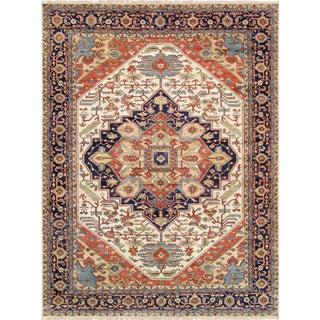 "Pasargad Serapi Lamb's Wool Rug - 4' X 5'10"""