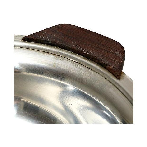 Danish Lundtofte Stainless Bowl - Image 3 of 4