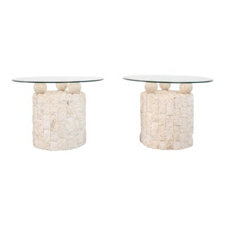 Magnussen Ponte Side Tables - A Pair