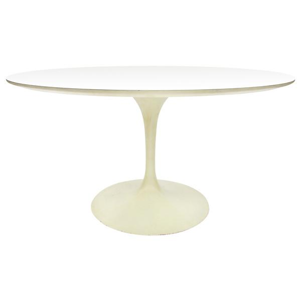 Early Saarinen Knoll Round Tulip Table - Image 1 of 9