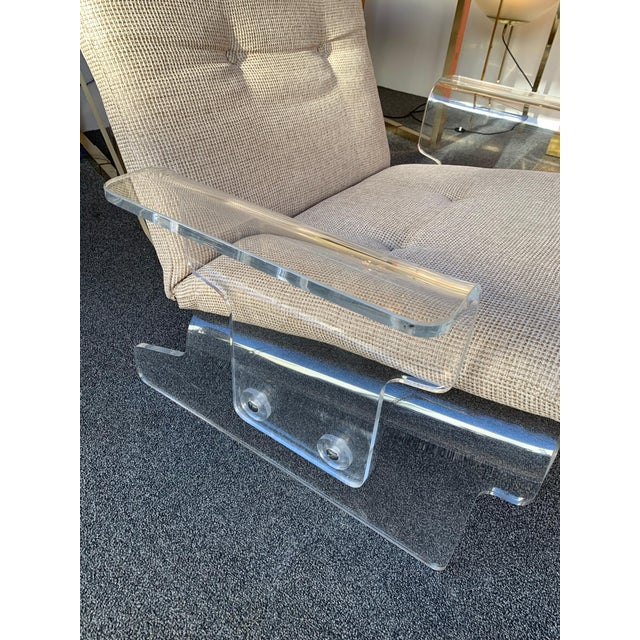 Pair of Lucite Armchairs by Baumann, Germany, 1970s For Sale - Image 9 of 13