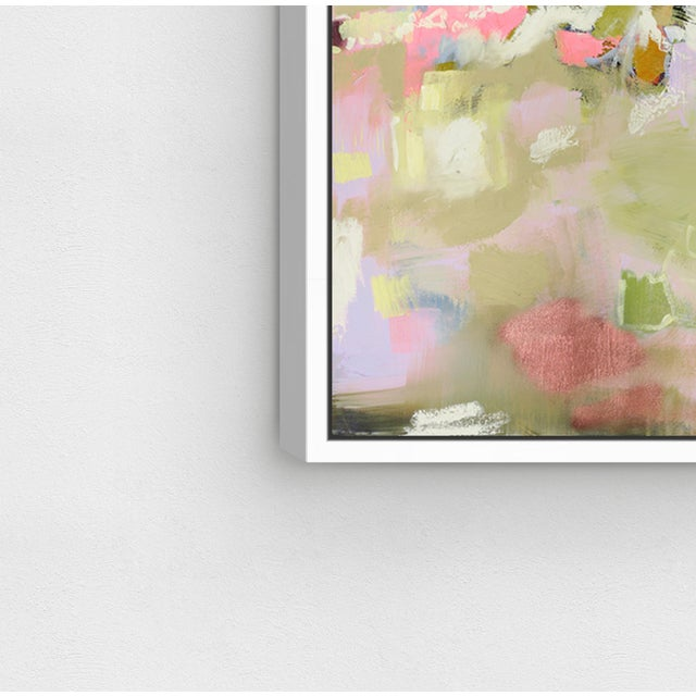"""Not Yet Made - Made To Order Oliver Gal Medium 'Michaela Nessim - Energy and Breakthrough' Framed Art 24"""" x 18"""" For Sale - Image 5 of 7"""