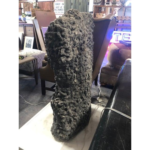 Ceramic Modern Belgian Back Torso Cement Sculpture For Sale - Image 7 of 8