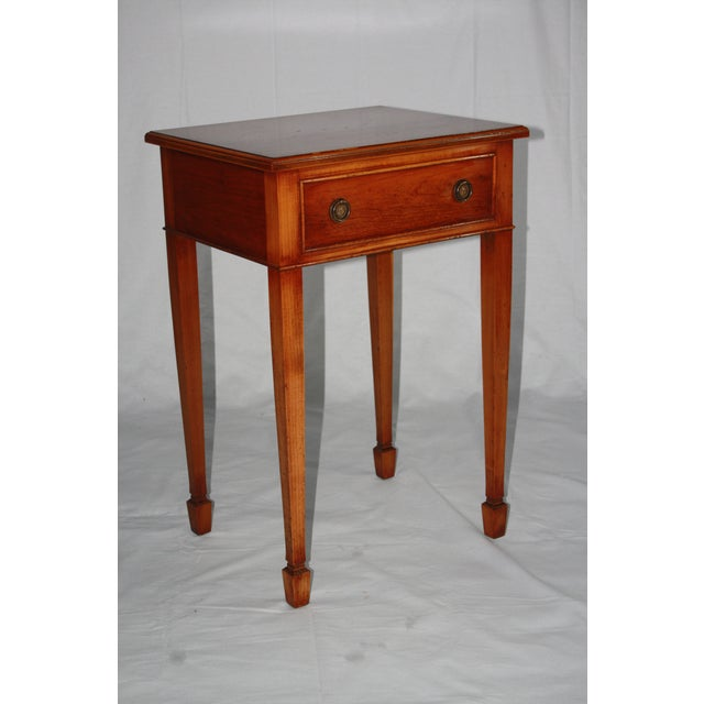 Yorkshire House Reproduction 19th-Century Side Table - Image 2 of 6