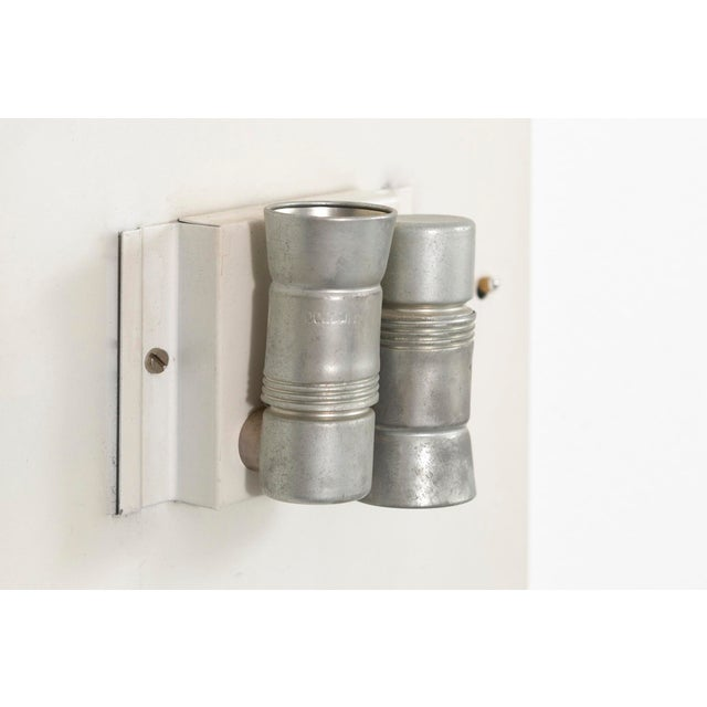 Charlotte Perriand Square Sconce Lights - Set of 7 For Sale In Chicago - Image 6 of 7