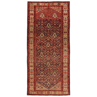20th Century Persian Malayer Gallery Rug - 5′1″ × 11′1″ For Sale