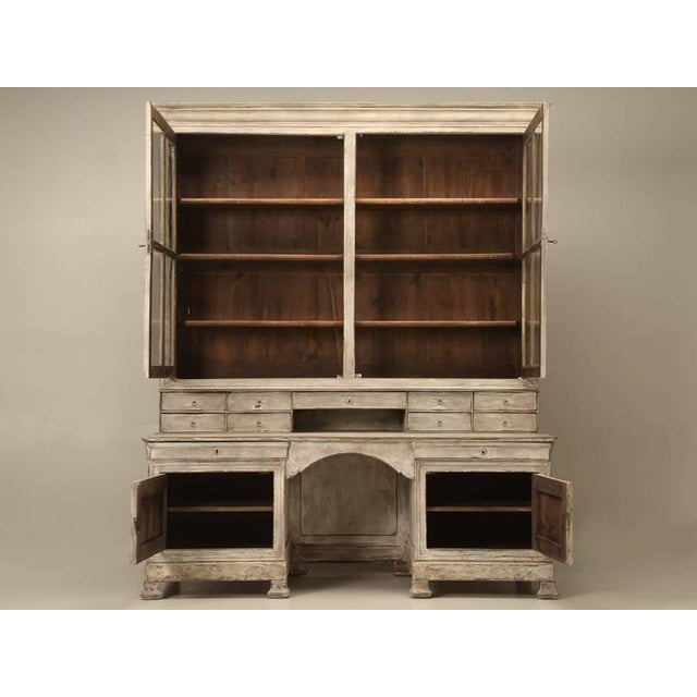 Antique French Bookcase and Desk For Sale - Image 10 of 10