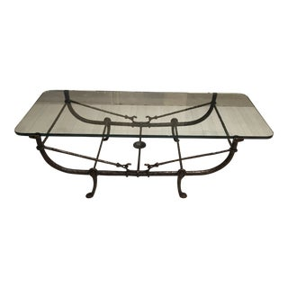 Giacometti Wrought Iron Coffee Table