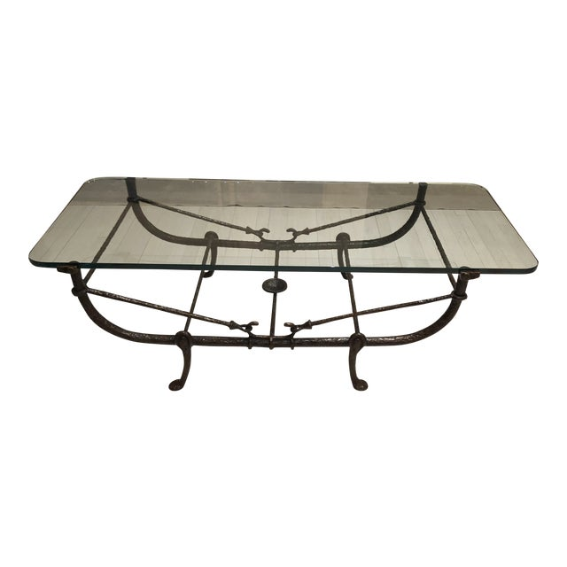 Giacometti Wrought Iron Coffee Table - Image 1 of 3