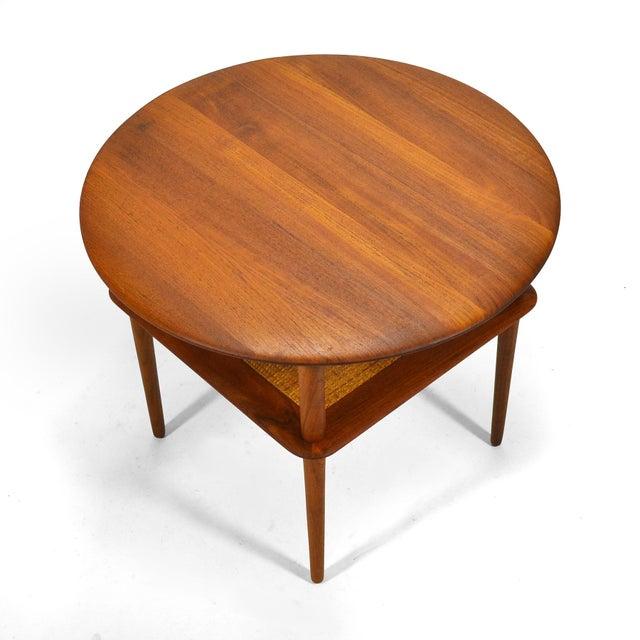 Peter Hvidt/ Mølgaard-Nielsen Fd 522 Occational Table For Sale In Chicago - Image 6 of 10