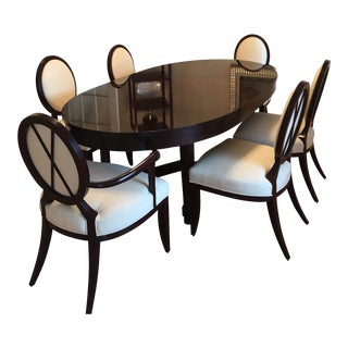 Oval Barbara Barry for Baker Dining Set