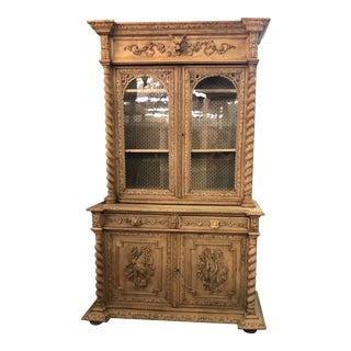 19th Century French Louis XIII Bibliotheque For Sale