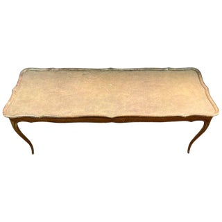 "Mid-Century Modern Coffee Table Stamped ""Made in France"" For Sale"
