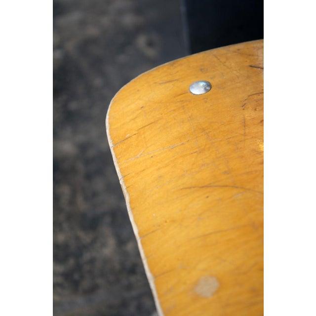 Vintage Wood & Metal Children's Chair - Image 2 of 4
