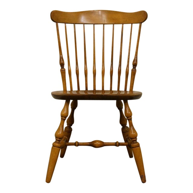 Nichols & Stone Gardener MA Old Pine Side Chair For Sale