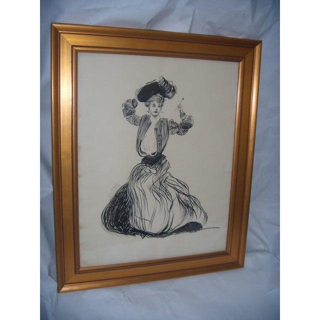 Vintage 1906 Original Drawing by John G Wilson - Image 2 of 7