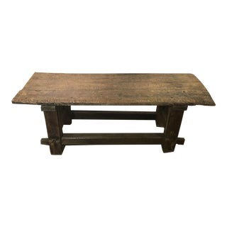 18th Century French Carpenters Table For Sale