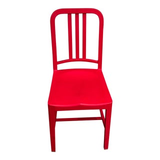 Modern Emeco Red Chair For Sale