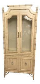 Image of White China and Display Cabinets