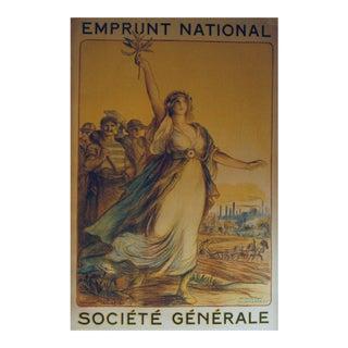 Vintage Société General Poster