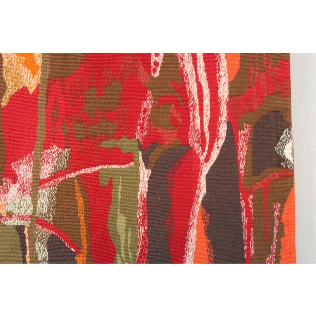 """Abstract Mathieu Matégot Tapestry Titled """"19 Composition"""" For Sale - Image 3 of 10"""